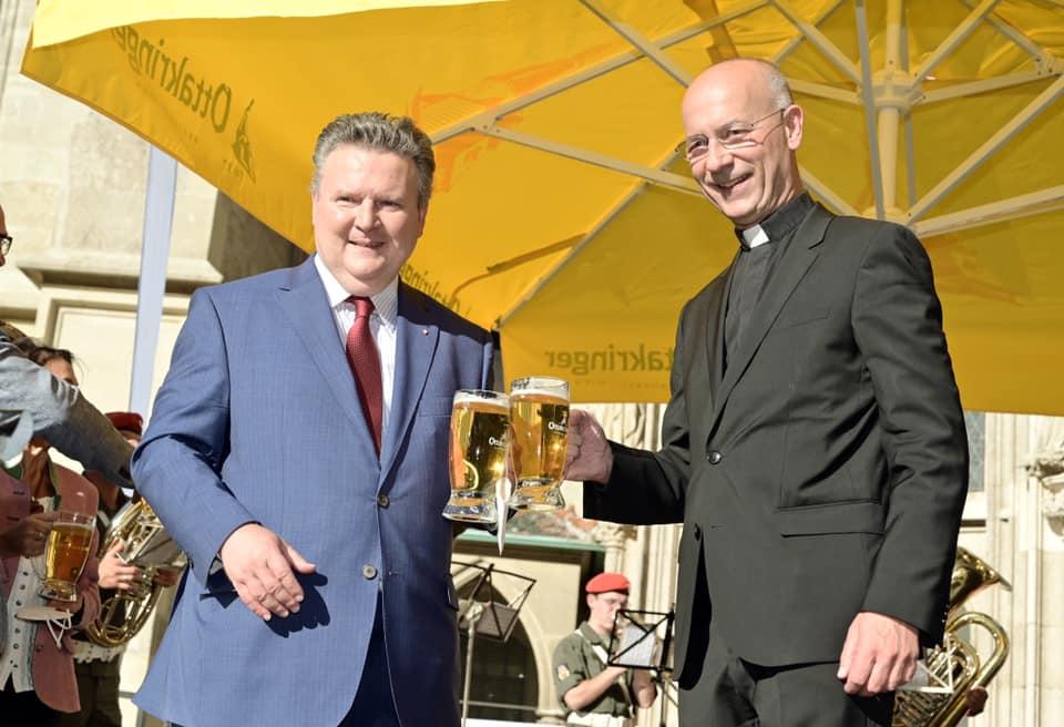 Eröffnung Stefflkirtag 2021 Michael Ludwig und Toni Faber